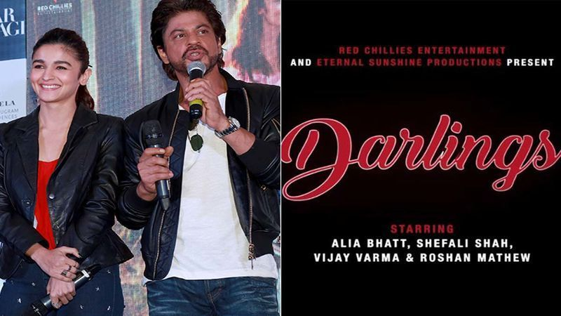 Rukh Khan Announces Dark Comedy Darlings:  Alia Bhatt, Shah Rukh Khan collaborate for dark comedy