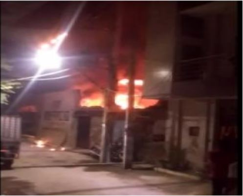 One killed by fire in Delhi on Diwali night, 205 calls to 'fire brigade'