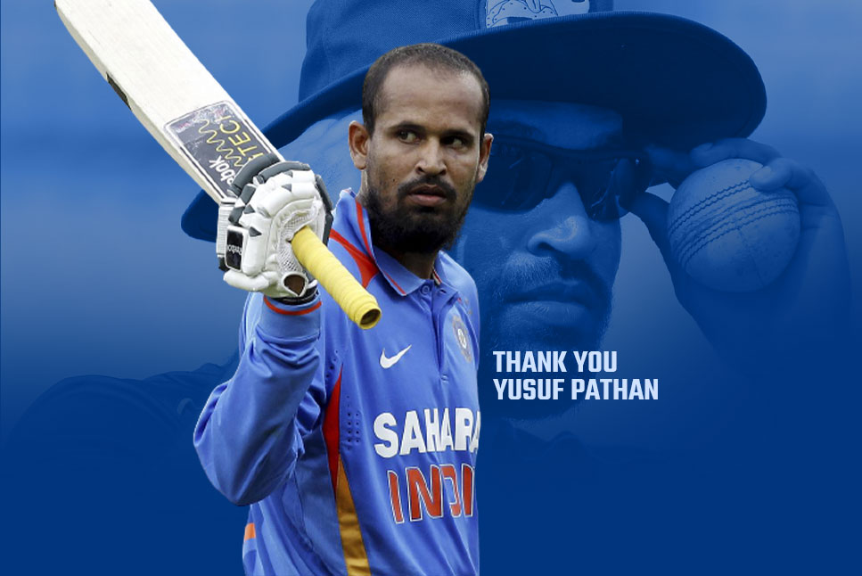 Bad news for Yusuf Pathan fans: Yusuf Pathan announces retirement from all forms of cricket
