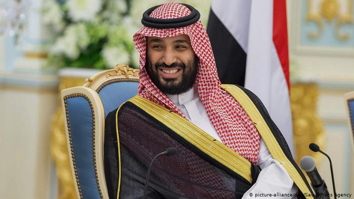 "What is the matter between ""Saudi Crown Prince and MBS Germany""?"