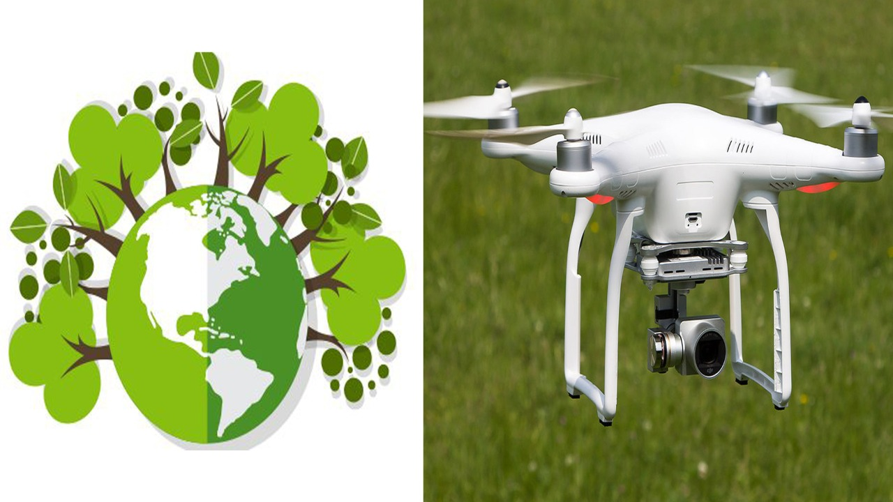 Increased utility of drone in health and environmental protection, risk of misuse also
