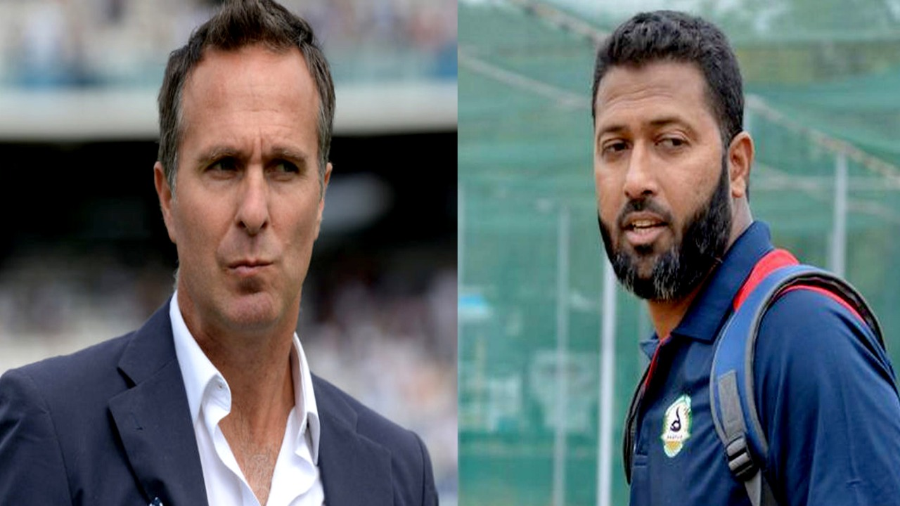 AUS vs IND: Michael Vaughan predicted India's defeat, Jaffer said