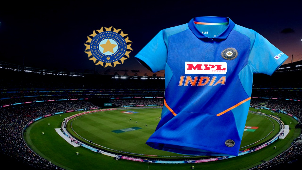 MPL will be seen on India's jersey, BCCI made kit sponsor for three years