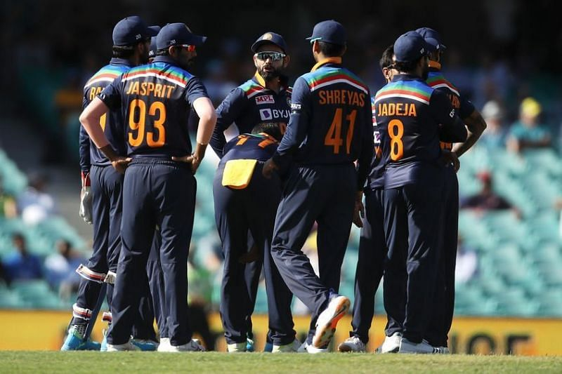Indian team fined 20 percent of match fees for slow over-rate in the first ODI against AUS