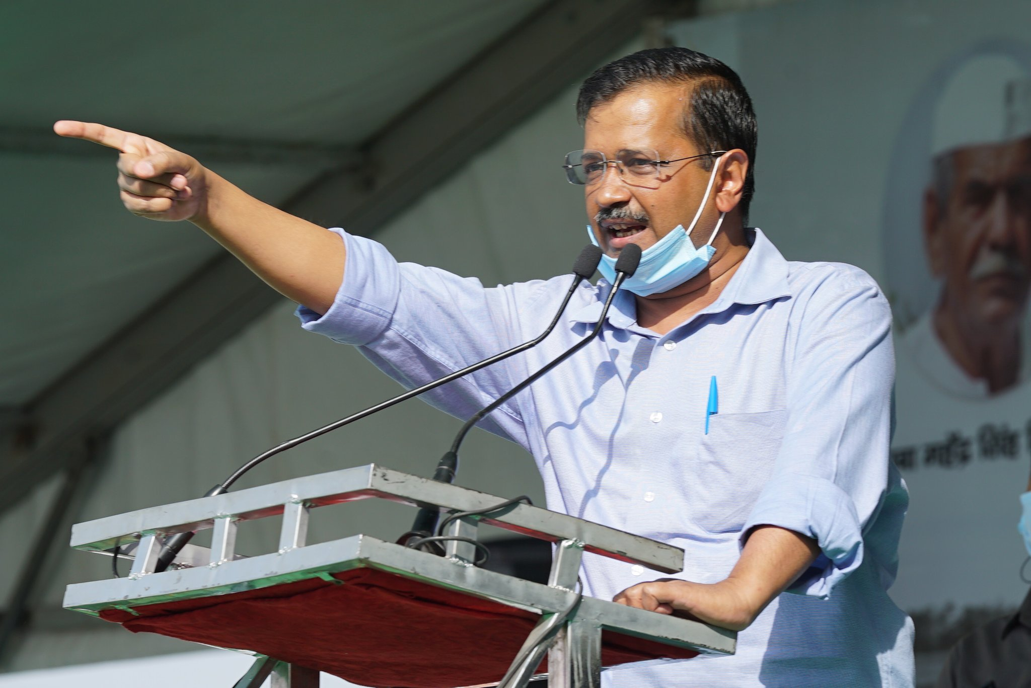 "Three farm laws as ""death warrants"" for the protesting farmers- Kejriwal"