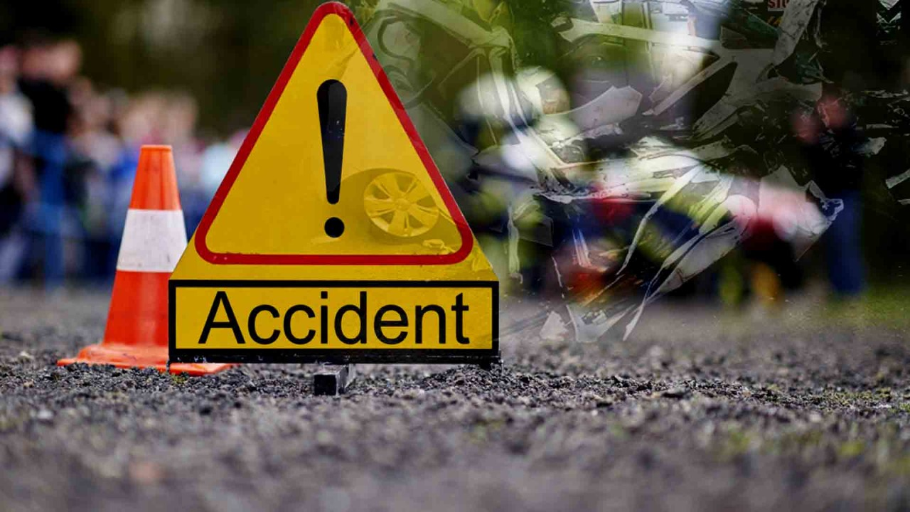 Bijnor : Four people died, One injured in a road accident