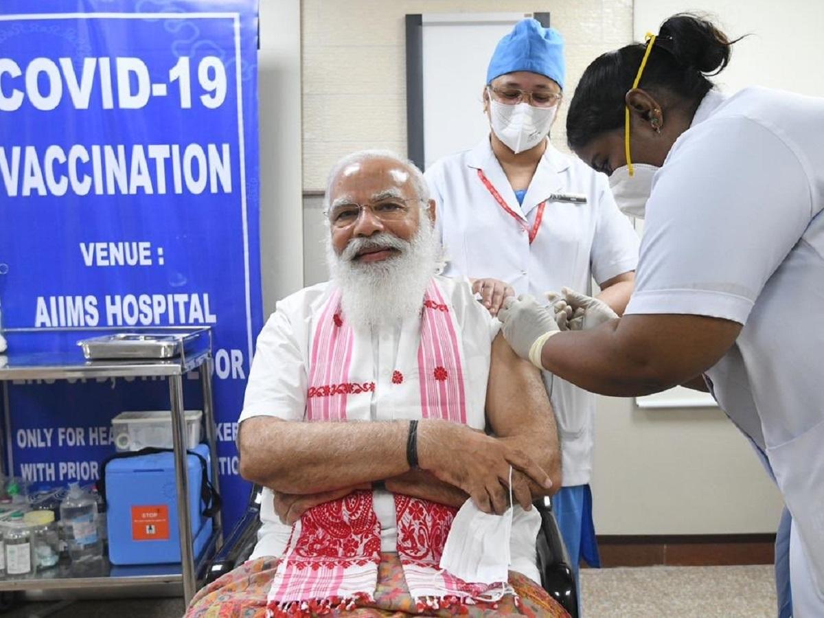 Nurse (P Niveda) who gave the first dose of Coronavirus vaccine to PM Narendra Modi: know about Sister P Niveda