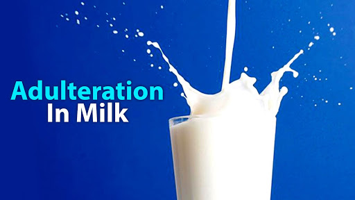 If you are consuming milk and milk products, be careful!!