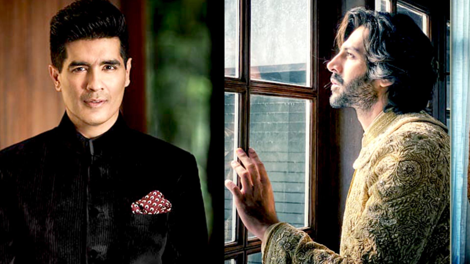 Kartik Aaryan Turns Showstopper For Designer Manish Malhotra's 'Ruhaaniyat'