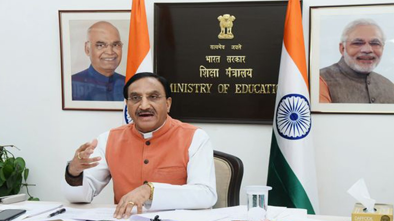 It's not possible to hold exams online: Ramesh Pokhriyal  No board exams till February, final dates soon